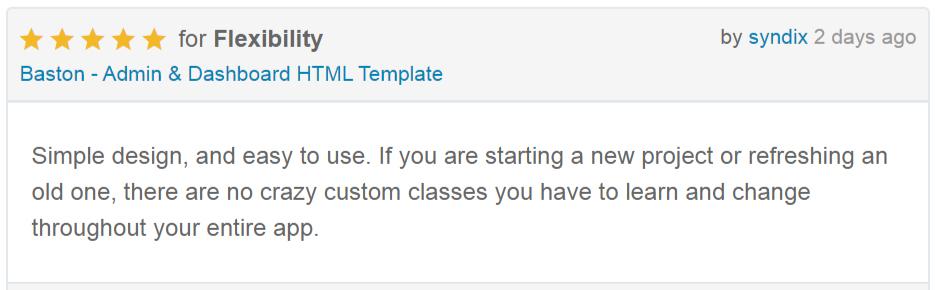 Baston - Admin & Dashboard HTML Template - 1